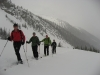 Ed, Scott, Jim and Jim in Rogers Pass