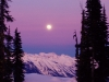 Full Moon over the Canadian Rockies