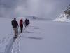 Ski touring up Mt Pyrite