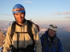Tim and Tom on the top of the world, Mt. Lefroy